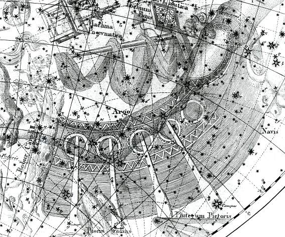 Argo constellation on Jan Ridpath's Star Tales